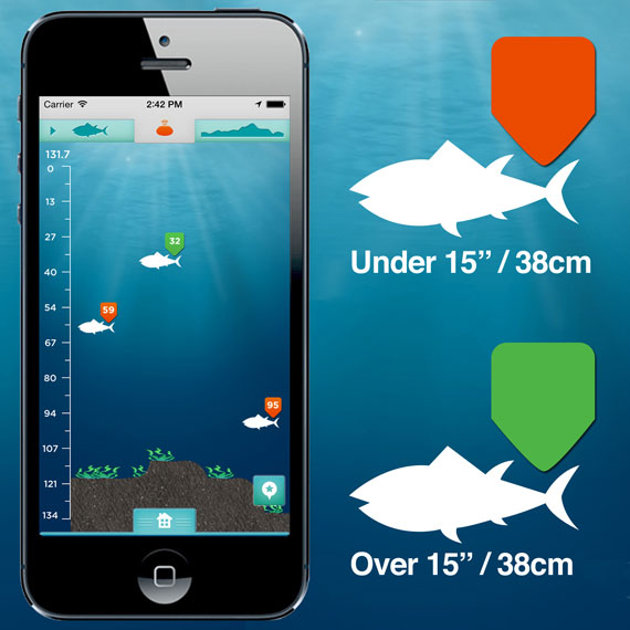Ibobber castable bluetooth smart fish finder fishing scales for Castable fish finder
